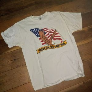 These colors don't run! America Shirt UNISEX